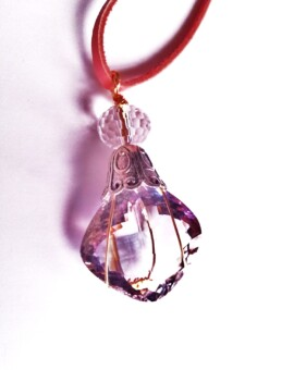 Amethyst - Cushion Cut Pendant