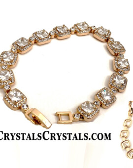 Top Style Cushion Cut CZ Tennis Bracelet