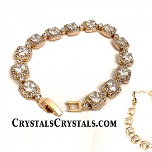 Top Style Cushion Cut CZ Tennis Bracelet
